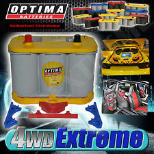 OPTIMA FRESH STOCK D34 YELLOW TOP BATTERY 55AH 750CCA 12 VOLT AGM DEEP CYCLE