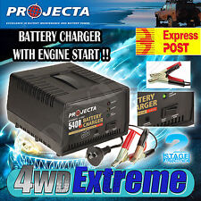 PROJECTA AC800 12V 5400mA AUTOMATIC 2 STAGE BATTERY CHARGER, WITH ENGINE START