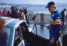 Ari Vatanen Hand Signed 12x8 Photo Rally Legend.