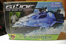 Hasbro G.i. Joe Rise of Cobra Ice Dagger w/ Frostbite Figure  MIB never opened