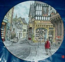 Royal Doulton Collectors Plate THE BAKERS SHOP - WINDOW SHOPPING