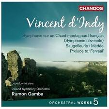 Vincent d'Indy: Symphonie sur un Chant montagnard fran?ais; Saugefle... *New CD*