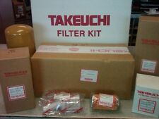 TAKEUCHI TB175 - 250 HOUR FILTER KIT - OEM - 1909917501 SER #17512105 AND UP