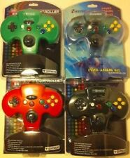 4 LOT Controllers Pads for N64  NINTENDO 64  NEW SEALED