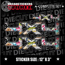 4x4 sticker bomb fx4 trx4 offroad sport truck window dot decal sticker euro 827