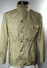 AQUASCUTUM Beige HOODED Orton AQUAMAC Packable SHORT Parka Style Rain Coat 44r