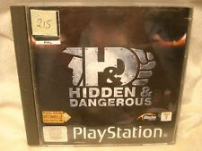 Jeu PS1 n°215 : HIDDEN & DANGEROUS