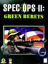 """PC VIDEO GAME - """"SPECIAL OPS II: GREEN BERETS"""" - BOXED SET - COMPLETE - NEW"""