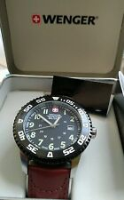 Wenger swiss army military watch..large 45mm case..new in box..