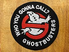 Ghostbusters Embroidered Iron Or Sew On Patch Badge Logo Fancy Dress