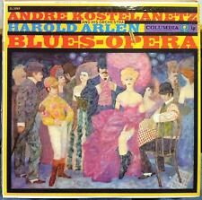 ANDRE KOSTELANETZ harold arlen blues opera LP VG+ CL 1099 6 Eye 1958 Record