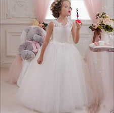 Flower Girls Dresses Baptism Wedding Holy Communion Princess Recital Ball Gowns