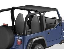 WRANGLER TJ 1997 - 2002 BESTOP HEADER BIKINI BLACK DENIM PLUS HEADER CHANNEL