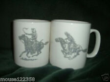 Pair of Horse Mugs or  Cups marlboro