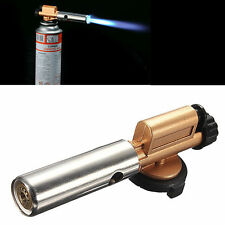 Portable Gas Torch Jet Flame Maker Lighter Gun Butane Weld Burner For BBQ Picnic