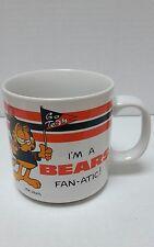 GARFIELD VTG 1978 NFL BEARS FANATIC Ceramic Coffee Mug Cup