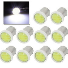 10pcs/Pack T4W BA9S COB 6 SMD Car White LED Bulbs Light Interior Lamps DC12V