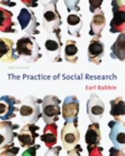 The Practice of Social Research, Earl Babbie, Good Condition, Book