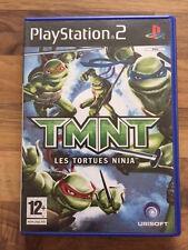PS2:    TMNT LES TORTUES NINJA    PAL