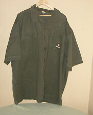 State Property Men's Green Shirt by Rockwear 100% Cotton Solid Size 5XXXXX