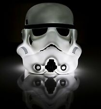 Small Stormtrooper Head Lamp, table light of Iconic helmet from Star Wars 90670