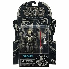 STAR WARS THE BLACK SERIES TBS DARTH MALGUS 04 FORCE UNLEASHED NON-MINT-CARD NEW