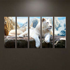 DIY 5D Diamond Lion Animal Painting Embroidery Cross Stitch Craft Home Decor