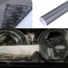 50x106cm Car Headlight Tint Perforated Window Vinyl Film Fly Eye Mesh Spi Vision