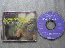 CD-FRANZISKUS & DIE LUSTIGEN BRUDER-HAPPINESS DIE ERSTE-(CD SINGLE)-4TRACK-MAXI