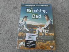 BREAKING BAD-THE COMPLETE SECOND SEASON-DVD (4 DISC SET)-FACTORY SEALED-NEW!