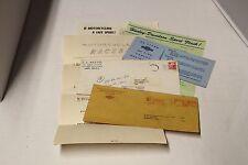 Lot of Harley Davidson Ephemera lot Envelopes advertising Scarlet Rangers M/C