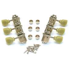 NEW Gotoh 3x3 Vintage TUNERS for Gibson Les Paul SG Nickel Keystones TK-0770-001