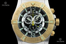 Invicta Men's 52mm Luminary Tritium Tube Swiss Chronograph Bracelet Watch 13925