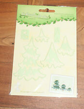 Leane Creatief cutting die 0829 CHRISTMAS TREES