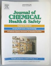Lot 33 issues Journal of CHEMICAL HEALTH & SAFETY 2008-14 American Chem Society