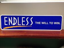 "ENDLESS Brakes Logo Aluminum Sign  6"" x 24"""