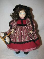 "8"" Little Girl Doll Dressed Beautifully Marked Pittsburgh Originals"