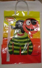 "New 2009 Yo Gabba Gabba Brobee HALLOWEEN BAG reusable plastic bag 16.5"" x 11.5"""