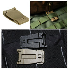 HOT Molle Strap EDC Backpack Bag Webbing Connecting Buckle Clip Accessorie