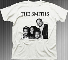The SMITHS Will funny music rock printed white cotton t-shirt TC9843