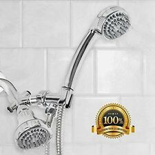 Sunbeam Shower Head and Massager Set, Chrome
