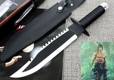 FIRST BLOOD RAMBO II PART jungle multi-function Hunting outdoor Knife 6FK65
