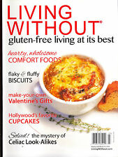 Living Without's Gluten Free & More Feb/March 2014-Comfort Foods-Cupcakes