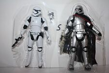 Star Wars The Force Awakens Captain Phasma & Storm Trooper 6 Inch Black Series