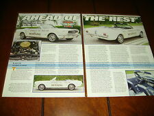 1964 FORD MUSTANG INDIANAPOLIS INDY 500 PACE CAR ***ORIGINAL 1994 ARTICLE***