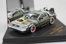 BACK TO THE FUTURE 3 DELOREAN 1/43 DIECAST MODEL CAR BY VITESSE 24013