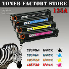 4PK CB540A 125A Black Color Toner Cartridge Set For HP Laserjet CM1312 CP1215