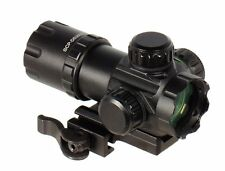"UTG SCP-DS3039W 3.9"" ITA Red/Green CQB Dot Sight with Integral QD Mount"