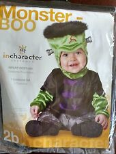 Monster Boo Infant Baby Costume 0-6 months