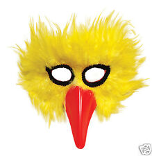 Mask Feather Chick Hen Bird Big Yellow Feathers Unisex Adult Child Beak Birds
